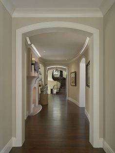3 Magnificent Cool Ideas: Bedroom Remodel Before And After Apartment Therapy bedroom remodel country.Bedroom Remodel Kitchen Cabinets bedroom remodel on a budget toilets. Hallway Paint Colors, Paint Colors For Home, Room Colors, House Colors, Paint Colours, Cool Ideas, Family Room Design, Living Room Paint, Living Rooms
