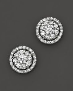 second change diamonds- these would be my pick-Bloomingdales- Diamond Earrings in 14 kt White Gold