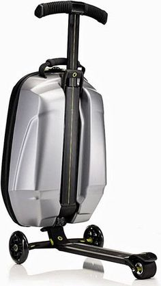 Samsonite luggage with scooter