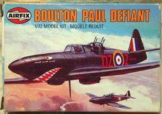 Airfix Boulton Paul Defiant Reissue 1980-1981