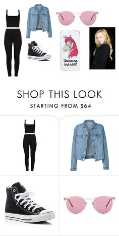 """""""Heather's outfit"""" by jtbae on Polyvore featuring Converse, Oliver Peoples and Miss Selfridge"""