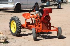 Garden tractor | Flickr - Photo Sharing!