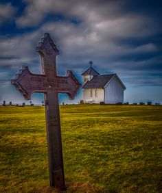 By the sea south-west in Norway. Old Churches, Graveyards, Memento Mori, Norway, Gothic, Sea, Architecture, Places, Photography