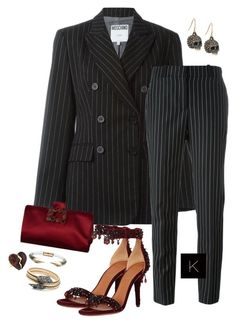 """""""Untitled #3948"""" by kimberlythestylist ❤ liked on Polyvore featuring Moschino, Givenchy, Roger Vivier and Alexis Bittar"""