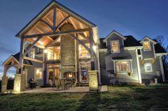 Home with Hearthroom 44 Indoor/Outdoor wood burning fireplace