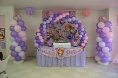 Sofia the First Birthday Party Ideas | Photo 15 of 19 | Catch My Party