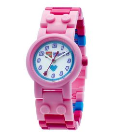 This Pink LEGO Friends Minifigure Watch is perfect! #zulilyfinds