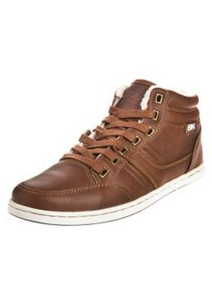 British Knights RE-STYLE MID - High-top trainers - cognac for £46.00 (10/05/15) with free delivery at Zalando