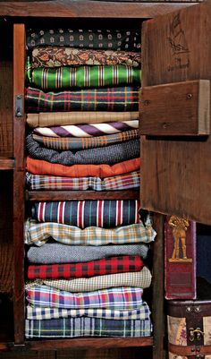 Love your plaid/print/stripe shirts?  Bring 'em all to add as props.