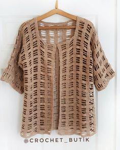 Very Popular Spring Floral Motif 50 Wonderful Crochet Lace Model - Moda Crochet, Pull Crochet, Gilet Crochet, Crochet Coat, Crochet Cardigan Pattern, Vest Pattern, Crochet Jacket, Crochet Blouse, Easy Crochet