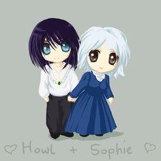 Sophie and Howl by bagsybabe.deviantart.com on @deviantART