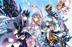 Elsword Eve, Anime Lineart, Eve Best, Star Family, Anime Dress, Dark Fantasy Art, Art Girl, Anime Girls, Character Art