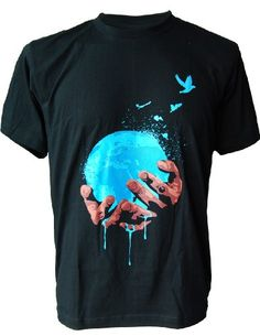 SODAtees stop Global Warming melting Earth Men's T-SHIRT - Black - Small SODAtees,http://www.amazon.com/dp/B00AEZKYNO/ref=cm_sw_r_pi_dp_P7ECtb12JKWD8R4P