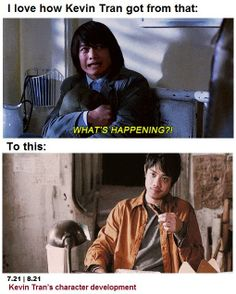 """From """"Kevin Tran: Advanced Placement"""" to """"Kevin Freakin' Solo!"""" :)"""