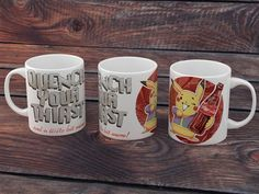 Fallout x Pokemon Pika Cola mug Fallout boy Quench your by 66level