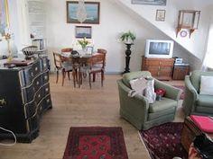 """The living room at """"Redersuiten"""" - """"Det lille Hotell"""", Risør"""