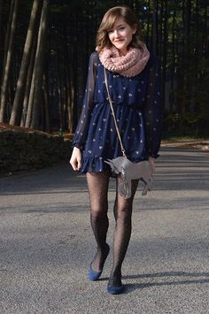 If I Were a King With Frou Frou Kids By Natasha Bridges – Fashion Outfits Fashion Tights, Tights Outfit, Women's Fashion Dresses, Pretty Outfits, Cool Outfits, Casual Outfits, Fashion Gallery, Womens Fashion For Work, Autumn Winter Fashion