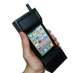 1980s Retro Brick Phone Case For iPhone