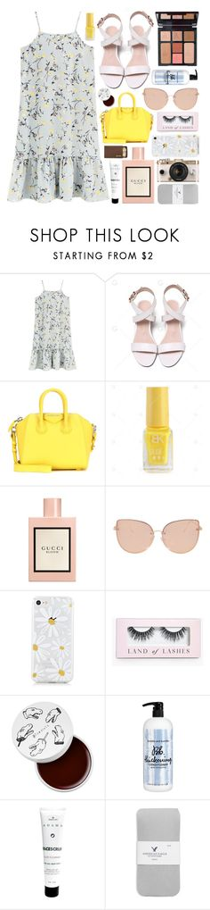 """Summer Glow."" by iitselizabeth ❤ liked on Polyvore featuring Givenchy, Charlotte Tilbury, Gucci, Topshop, Boohoo, too cool for school, Urban Outfitters, Bumble and bumble, Zion Health and American Eagle Outfitters"