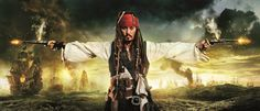 Kuvapaneeli Jack Sparrow tapeettimallistosta Disney Magic Kids. www.k-rauta.fi
