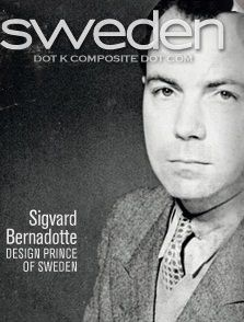 Sigvard Bernadotte—Swedish royal and uncle of the current king, (awkward) Carl XVI Gustaf— spectacular industrial design talent, who lost his place in the succession order by marrying by  marrying a 'commoner' (three actually, over the years...), which was frowned upon for the majority (all?) of the 20th century. An impressive talent.