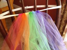 I have a very creative daughter, who loves to draw. Her favorite subject these days is rainbows, so it came as no surprise when she told me she wanted to be a rainbow for Halloween. A few catalogs came in the mail, and she fell in love with a rainbow costume from Chasing Fireflies. I Read Post