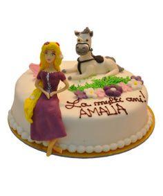 tort-figurine-ponei+printesa Cake, Desserts, Food, Tailgate Desserts, Deserts, Kuchen, Essen, Postres, Meals