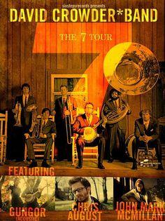 David Crowder Band poster