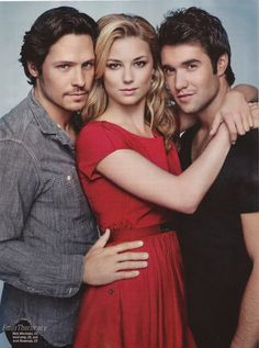 Emily VanCamp, Nick Wechsler and Josh Bowman of Revenge in Entertainment Weekly Magazine Serie Revenge, Revenge Cast, Revenge Tv Show, Nick Wechsler, Josh Bowman, Emily Vancamp, Movies And Series, Still Life Film, Actresses