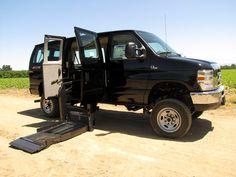 Wheelchair Accessible Quigley 4x4 | Nor-Cal Vans