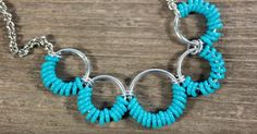 Follow along with this lovely video tutorial and learn how to make this darling homemade necklace. If you are a beginner to chainmaille, or working with jump rings, this a wonderful beginner DIY jewelry project to start with.