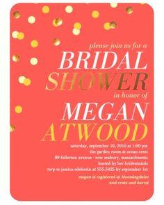 Bridal Shower Invitations We Love | Martha Stewart Weddings