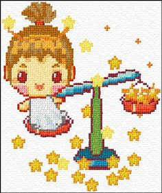 Cross Stitch | Libra xstitch Chart | Design
