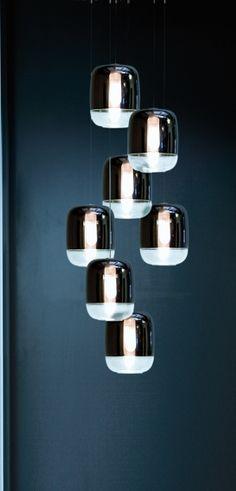 GONG MINI lampade sospensione catalogo on line Prandina illuminazione design lampade moderne,lampade da terra, lampade tavolo,lampadario sos...