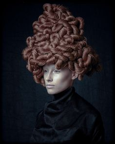 Jonathan De Francesco авангардная коллекция 2014 — HairTrend.ru