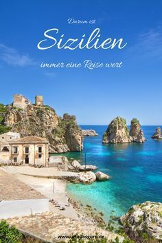 In my Sicily tips you will learn what to expect on the largest island in the Mediterranean. Learn where to find the most beautiful beaches, what makes the capital Palermo so special, and what's up Palermo, Holiday Destinations, Vacation Destinations, Most Beautiful Beaches, Beautiful Places, Mafia, Places Around The World, Around The Worlds, Cheap Beach Vacations