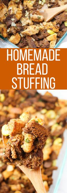 Homemade Bread Stuffing Recipe for Thanksgiving