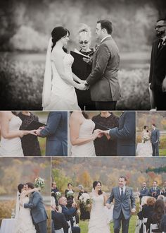 This is me officiating at the Shawnee Inn in the fall - i just loved the collage so I posted it. Photo by Sharyn Frenkel Photography
