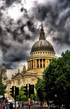 St Paul's Cathedral - London England.