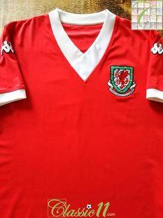 3a9d358c884 Official Kappa Wales home football shirt from the 2006/07 international  season. Wales Football