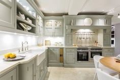 Exquisite Grey Painted Kitchen – Tom Howley