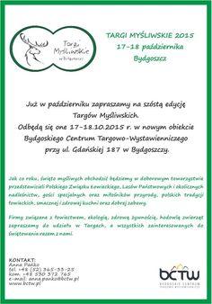 Bydgoskie Centrum Targowo – Wystawiennicze   VI Targi Myśliwskie w Bydgoszczy - Bydgoskie Centrum Targowo - Wystawiennicze