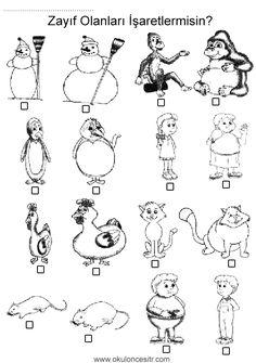 Worksheets, Eminem, Free Printables, Preschool, Skinny, Fat, Activities, Free Printable, Kindergarten