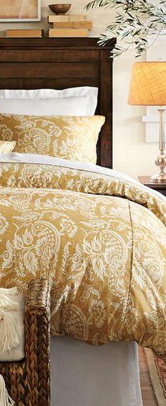 Really love the color. http://www.cadecga.com/category/Duvet-Cover/ http://www.pinterhome.com/category/Duvet-Cover/ Floral Duvet Cover #bedding