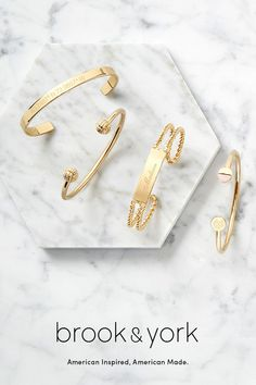 Free shipping and personalization on brook&york signature jewelry collection. American inspired and made in the USA. #fashion