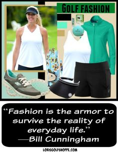As what they say, everyday is a fashion show and the world is our runway! #fashion #inspiration #style #golf #lorisgolfshoppe