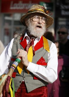 Morris Dancer by anthsnap!, via Flickr