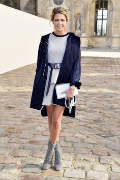 Helena Bordon en Dior