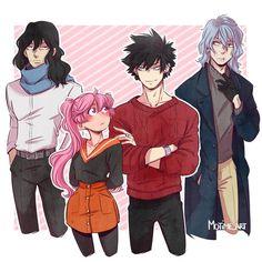 Oc Manga, Anime Oc, Chica Anime Manga, Anime Guys, My Hero Academia Shouto, My Hero Academia Episodes, Hero Academia Characters, Anime Characters, Satsuriku No Tenshi