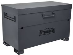 The Better Built Jobsite Storage Boxes Collection includes chests and piano boxes all designed to deliver security and value for Pro contractors. Tool Storage, Storage Boxes, Storage Organization, Steel Gauge, Arc Welding, Tool Shop, Best Build, Toolbox, Power Tools